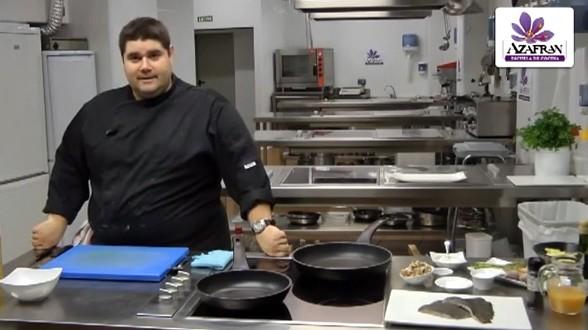 Video rodaballo en salsa boletus - Escuela de cocina azafran ...