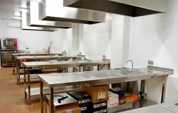 Sala de catas y demostraciones - Escuela de cocina azafran ...
